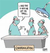 Communication, Communication, Communication