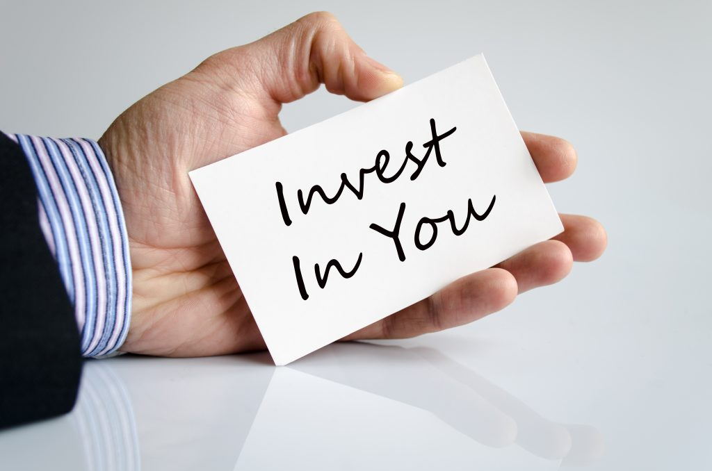 A Worthy New Year's Resolution:   Invest In You