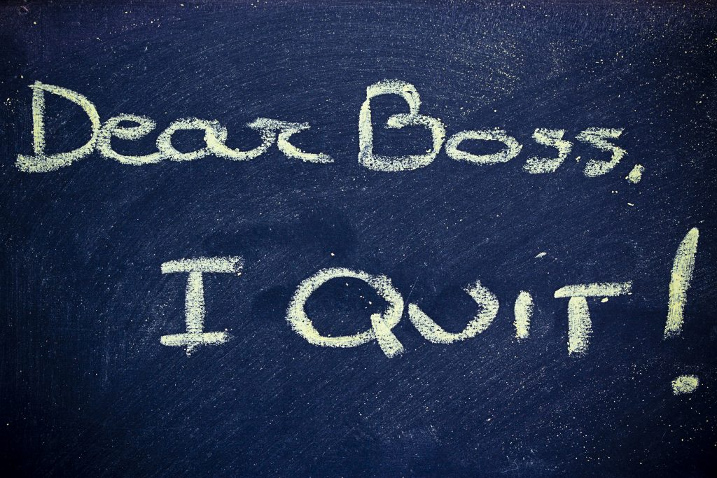 Why People Really Quit Jobs